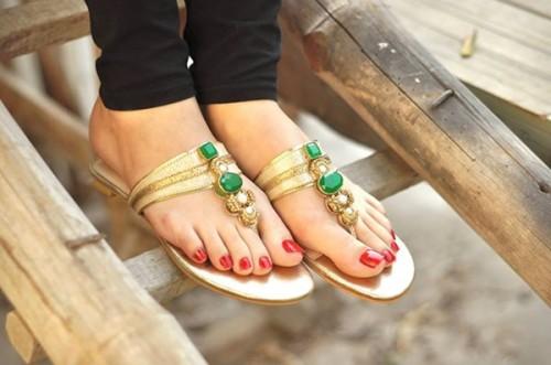 Farah & Fatima Summer Eid Footwear, Shoes, High Heels Women Wear Collection 2014  Fashion
