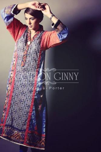 Cotton Ginny Eid Collection 2014 Pret Dresses Fashion
