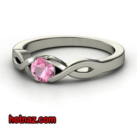 حلقه نامزدی نگین دار