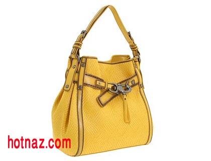 کیف زرد و خردلی 93