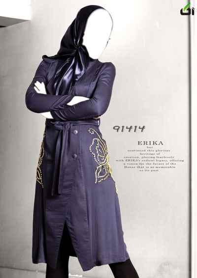 مدل مانتو فانتزی 92 - آکا