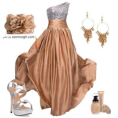لباس مجلسی تابستانه-لباس مجلسی زنانه تابستانی