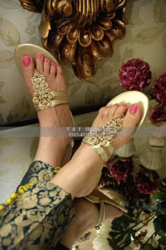 Farah & Fatima Summer Eid Footwear, Shoes, High Heels Women Wear Collection 2014  Fashion