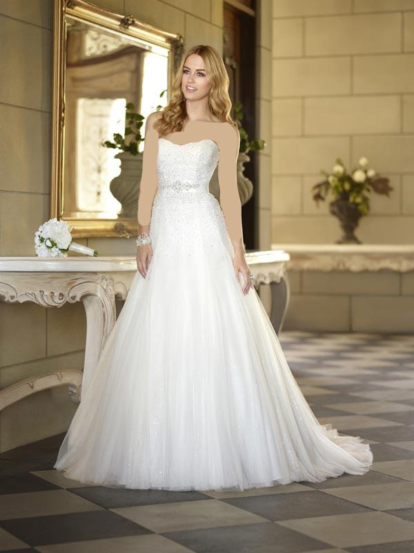 5464344 عکس هایی جدید از شیک ترین مدل لباس عروس 2014