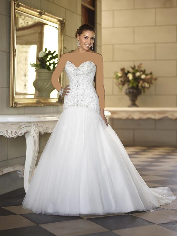 46456 عکس هایی جدید از شیک ترین مدل لباس عروس 2014