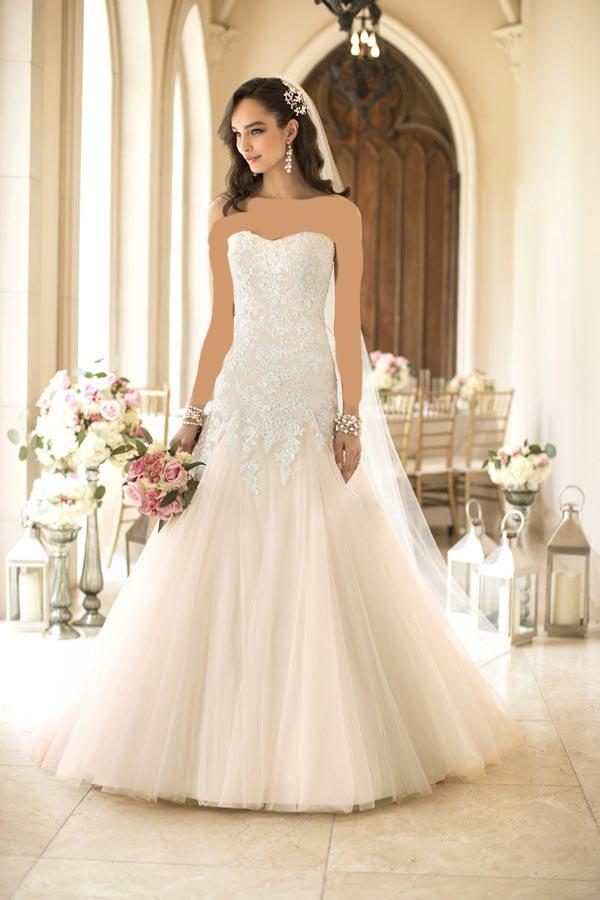 56756 عکس هایی جدید از شیک ترین مدل لباس عروس 2014