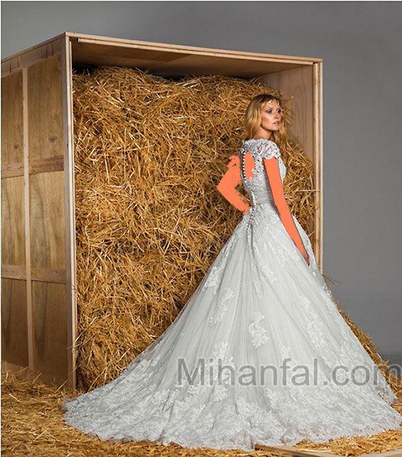 مدل لباس عروس جدید3
