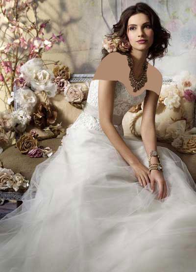 عکس لباس عروس2