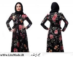 مدل مانتوی مجلسی ایرانی 257
