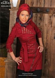 مدل مانتوی مجلسی ایرانی 256