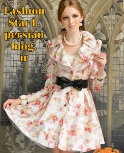 مدل لباس دخترانه سری9