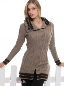 مدل لباس بافتنی سری3