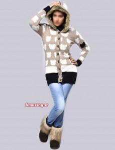 مدل لباس بافتنی سری 23