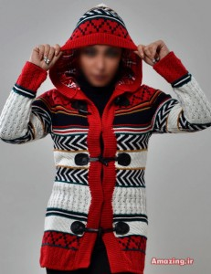 مدل لباس بافتنی سری22