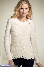 مدل لباس بافتنی سری17