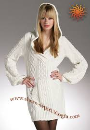 مدل لباس بافتنی سری11