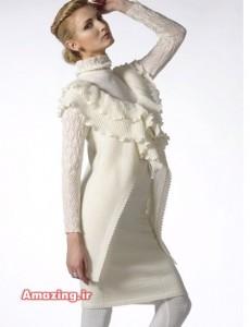 مدل لباس بافتنی سری20