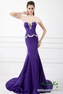 مدل لباس مجلسی گیپور سری27