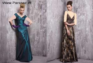 مدل لباس شب سری9