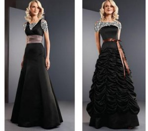 مدل لباس شب سری11