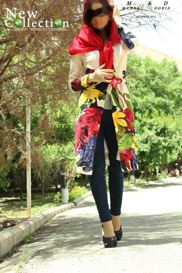 مانتو سنتی قشنگ